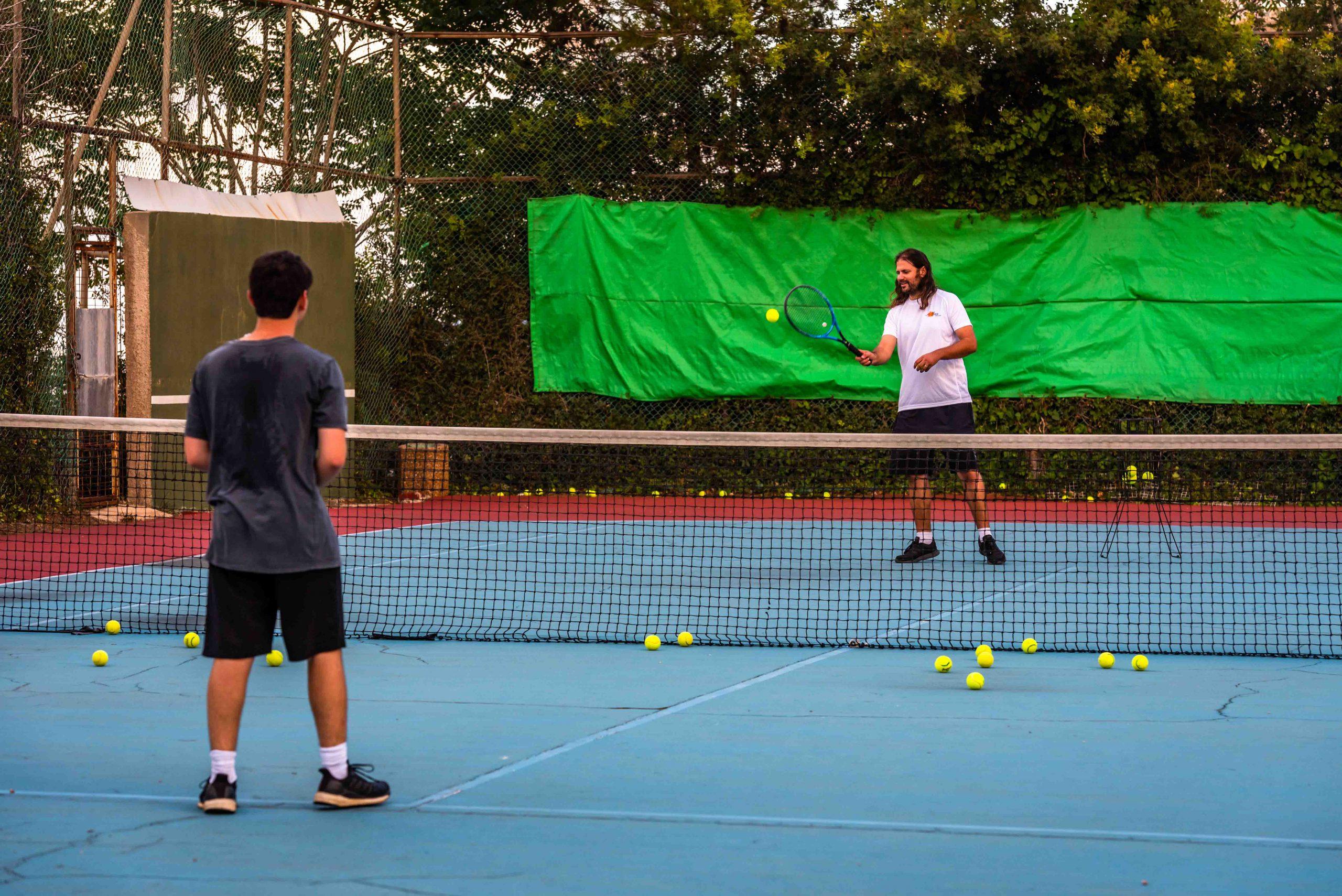 מגרשי טניס אוניברסיטת חיפה